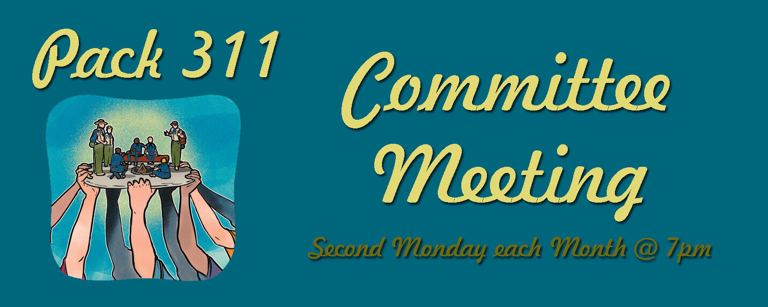 Committee Meeting Mondays Banner